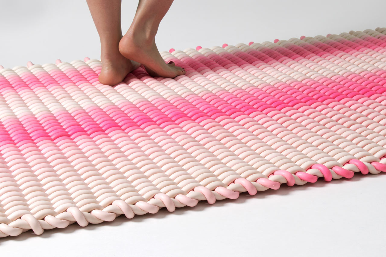 indoor/outdoor rugs made of woven silicone cord | 同鈞官網
